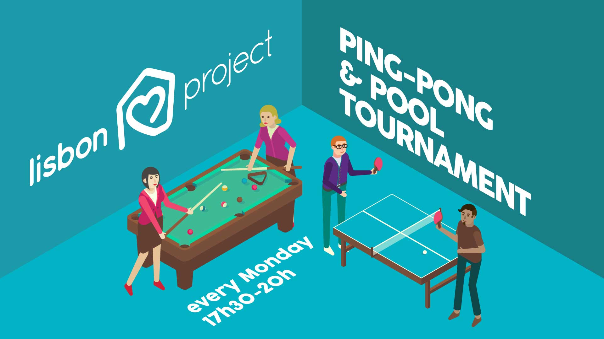Ping-Pong & Pool Tournament